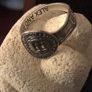 Alex & Ani #11 Adjustable Numerology Spoon Ring-OS